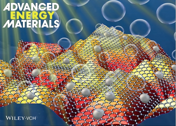 The Publication of Prof. Chun-Wei Chen's Research Team Selected as the Back Cover of Journal《Advanced Energy Materials》